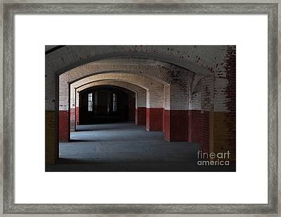 San Francisco Fort Point 5d21543 Framed Print by Wingsdomain Art and Photography