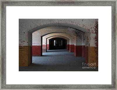 San Francisco Fort Point 5d21544 Framed Print by Wingsdomain Art and Photography