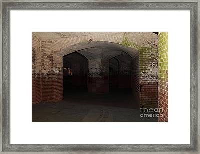 San Francisco Fort Point 5d21548 Framed Print by Wingsdomain Art and Photography