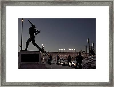 San Francisco Giants 2012 World Series Game 2 Framed Print