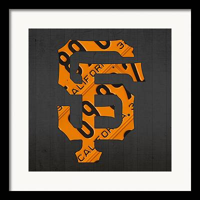 San Francisco Giants Framed Prints