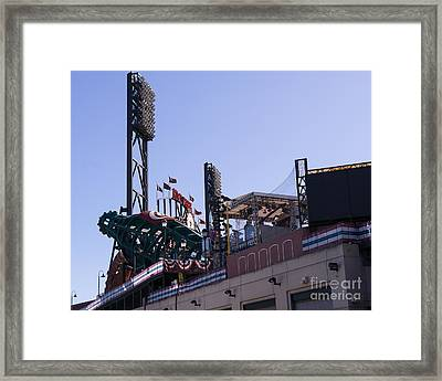 San Francisco Giants World Series Baseball At Att Park Dsc1884 Framed Print