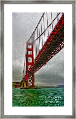 San Francisco - Golden Gate Bridge - 02 Framed Print by Gregory Dyer