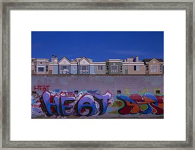 San Francisco Graffiti Framed Print