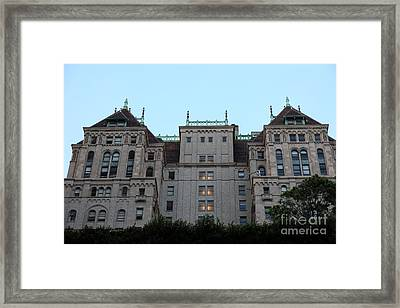 San Francisco Hunter-dulin Building - The Old Lick Hotel - 5d20600 Framed Print by Wingsdomain Art and Photography