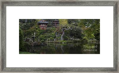 San Francisco Japanese Garden Framed Print by Mike Reid
