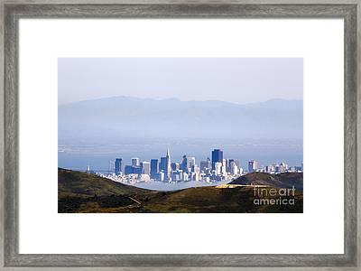 San Francisco  Framed Print by Juan Romagosa