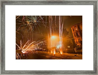 San Francisco July 4th Framed Print