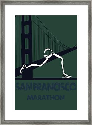 San Francisco Marathon Framed Print by Joe Hamilton