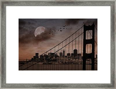 San Francisco Framed Print by Marie  Gale