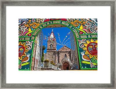 San Francisco Mexico Framed Print