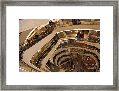 San Francisco Nordstrom Department Store - 5d20641 Framed Print by Wingsdomain Art and Photography