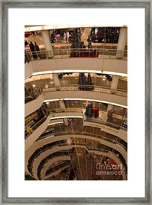 San Francisco Nordstrom Department Store - 5d20642 Framed Print by Wingsdomain Art and Photography