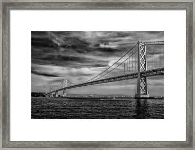 San Francisco - Oakland Bay Bridge Framed Print