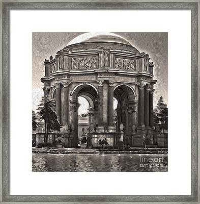 San Francisco - Palace Of Fine Arts - 01 Framed Print by Gregory Dyer