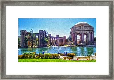 San Francisco - Palace Of Fine Arts - 02 Framed Print by Gregory Dyer