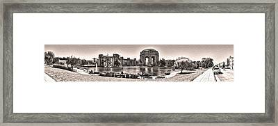 San Francisco - Palace Of Fine Arts - 03 Framed Print by Gregory Dyer