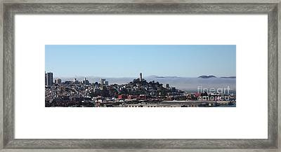 San Francisco Panorama 5d25373 Framed Print
