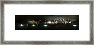 San Francisco Panorama Framed Print