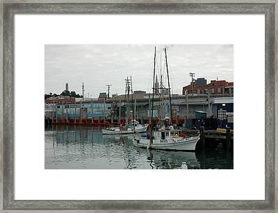 San Francisco Pier Framed Print