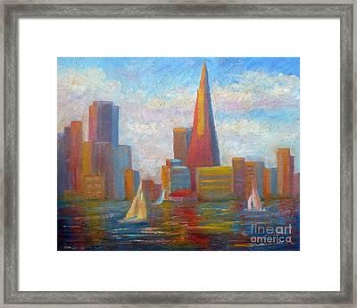 San Francisco Reflections Framed Print
