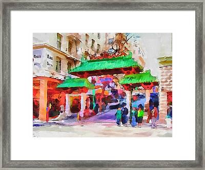 San Francisco Streets 5 Framed Print by Yury Malkov