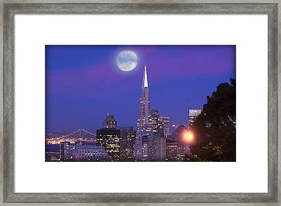 San Francisco - A Golden Handcuff Framed Print