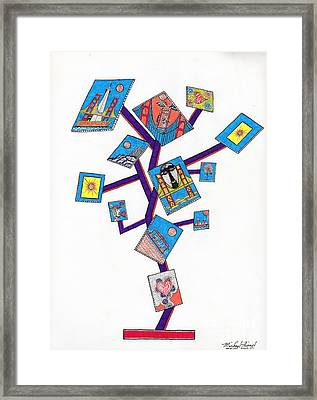 San Francisco Tree Of Life Framed Print by Michael Friend
