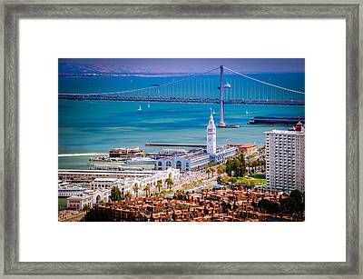 San Francisco Waterfront Framed Print