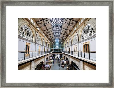 San Francisco's Ferry Building Framed Print