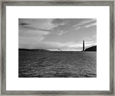 San Francisco�۪s Golden Gate Framed Print