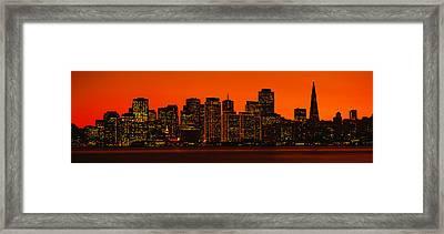 San Franscisco Ca Framed Print