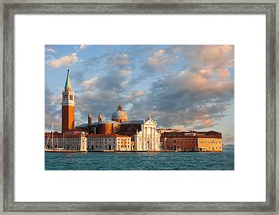 San Giorgio Island Framed Print