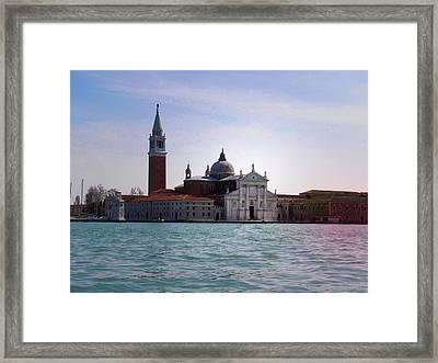 San Giorgio Maggiore Venice Framed Print by Bill Cannon
