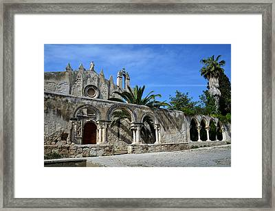 San Giovanni Alle Catacombe In Siracusa Framed Print by RicardMN Photography