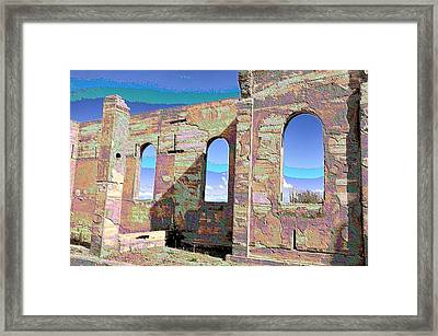 San Isadore Church Framed Print