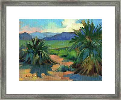 San Jacinto Visitors Center Framed Print by Diane McClary