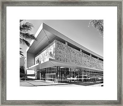 San Jose State University Student Union Framed Print by University Icons