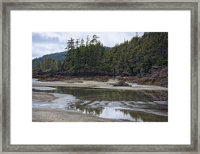 San Josef Bay Reflections Framed Print