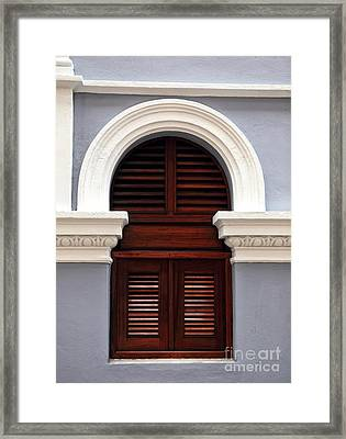 San Juan Architecture Framed Print by John Rizzuto
