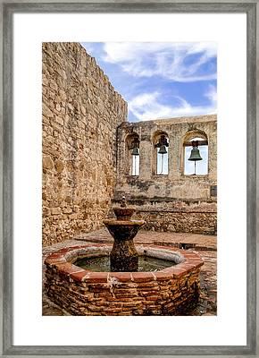 San Juan Capistrano Mission Framed Print