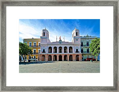 San Juan City Hall Framed Print