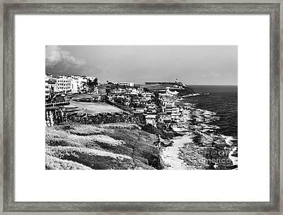 San Juan Coast Framed Print by John Rizzuto