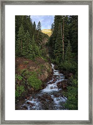 San Juan Mountain Stream Framed Print