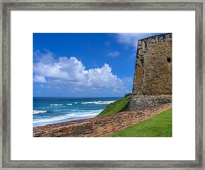 San Juan Puerto Rico  Framed Print by Trace Kittrell