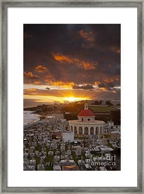 San Juan Sunrise Framed Print by Brian Jannsen