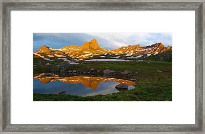 San Juan Sunrise - Colorado  Framed Print