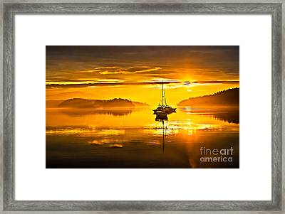 San Juan Sunrise Framed Print by Robert Bales