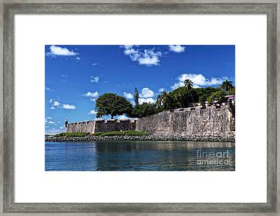 San Juan Wall Framed Print by John Rizzuto