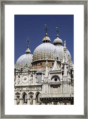 San Marco Basilica. Framed Print